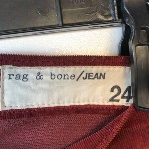 rag & bone Pants - Rag & Bone skinny corduroy pants sz 24